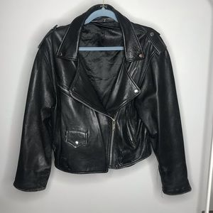 Vintage Luomo Leather Jacket